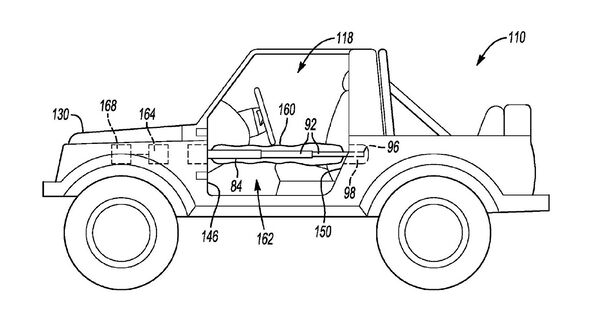 Ford Bronco Patent Seitenairbags