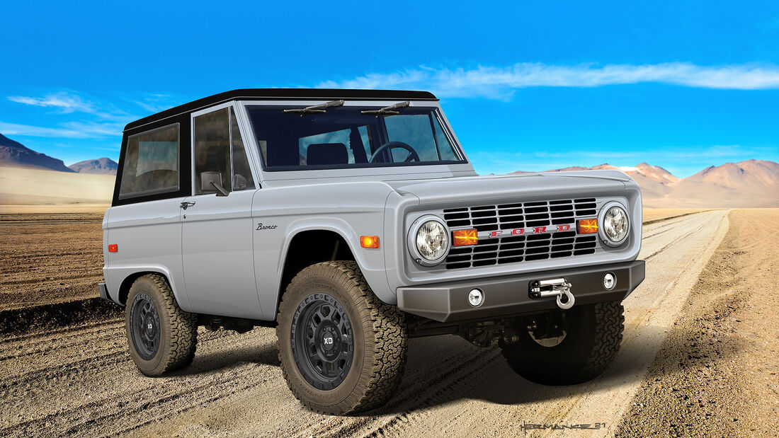 Ford Bronco Restomod von Classic Recreations.