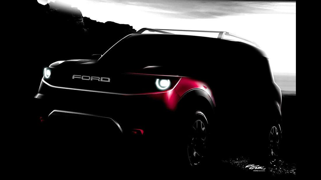 Ford Bronco Teaser