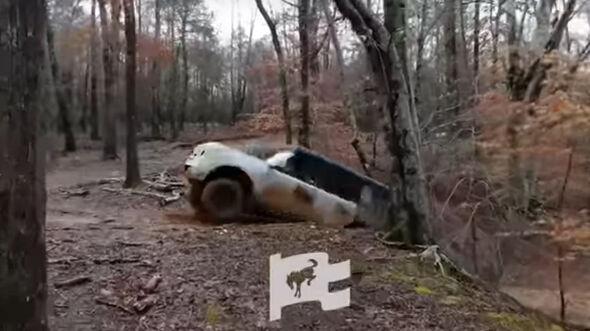 Ford Bronco Testfahrten