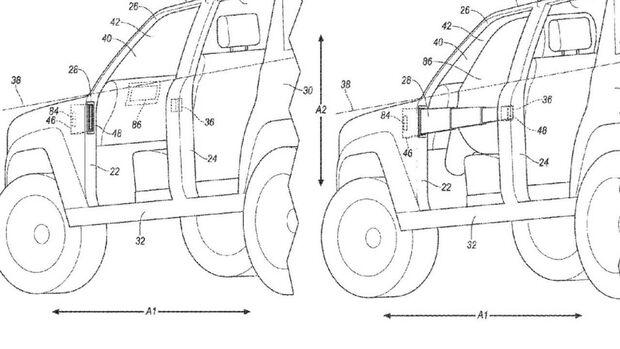 Ford Bronco Türpatent