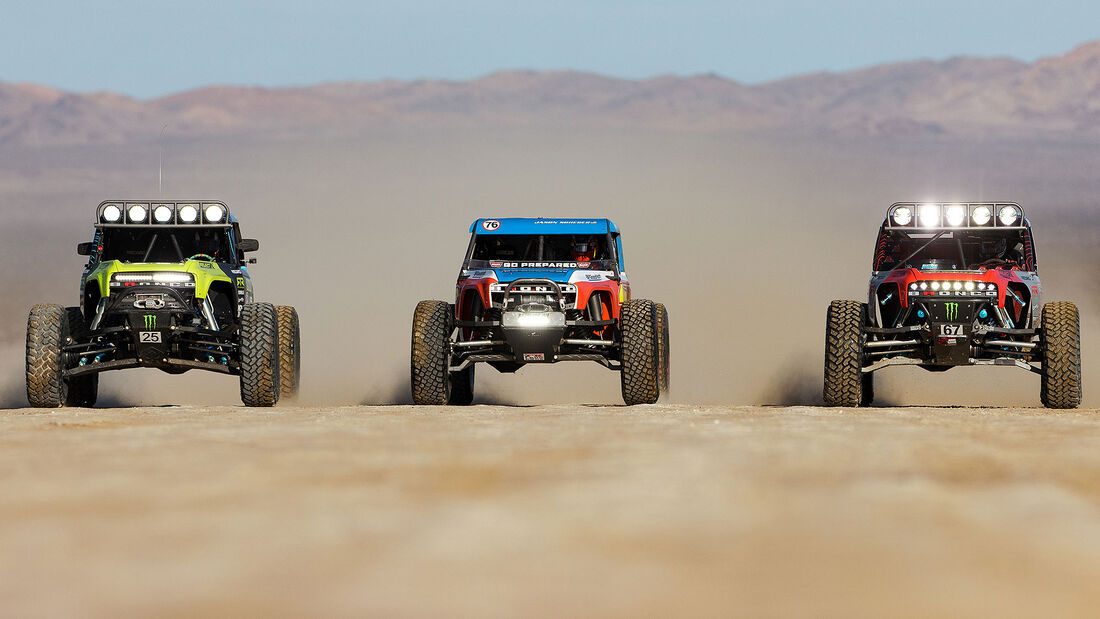 Ford Bronco Ultra4 4400 Unlimited Class Race Truck