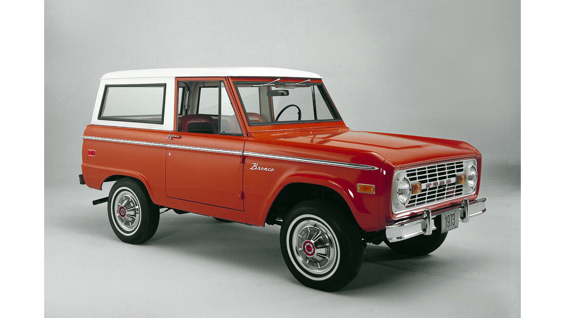 Ford Bronco Version 1973