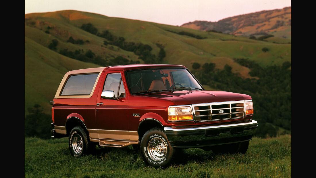 Ford Bronco 2020: Erste Infos Vom Kult-Geländewagen