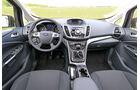 Ford C-MAX 1.0 Ecoboost, Cockpit, Lenkrad