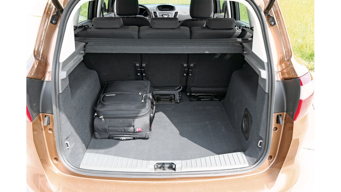 Ford C-MAX 1.0 Ecoboost, Kofferraum