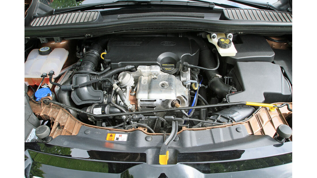 Ford C-MAX 1.0 Ecoboost, Motor