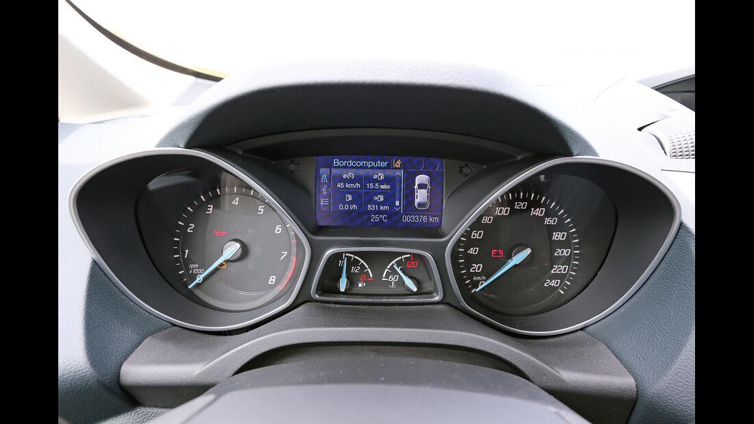 Ford C-MAX 1.0 Ecoboost, Rundinstrumente