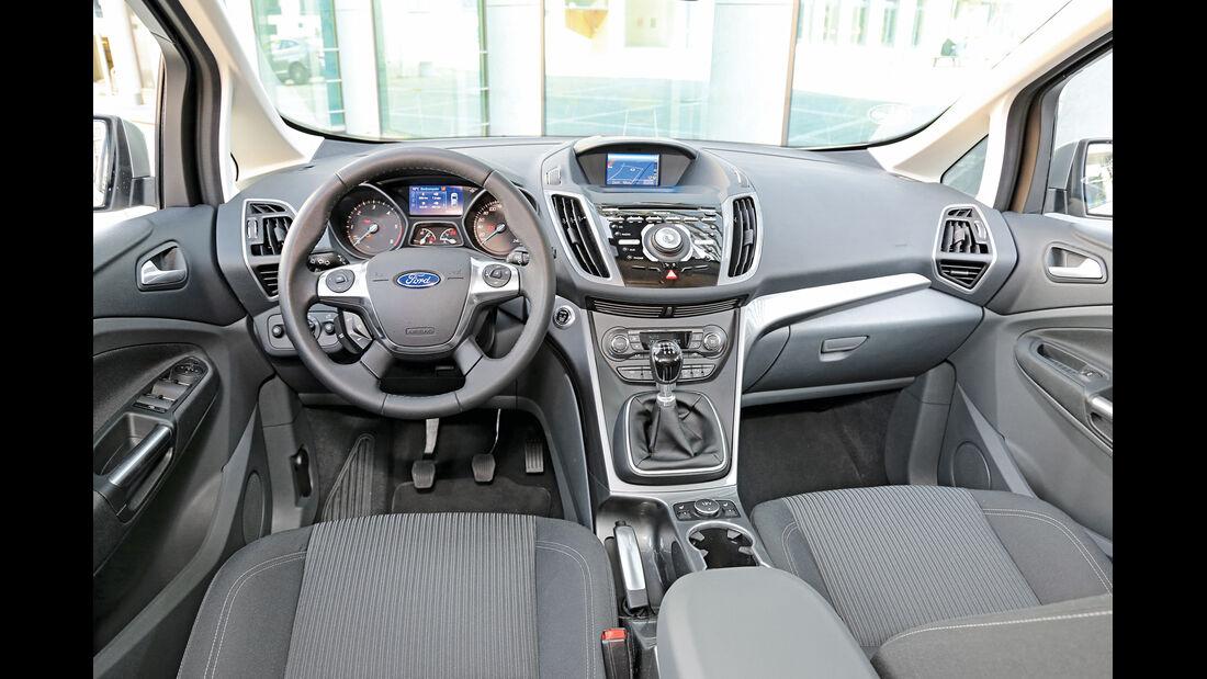 Ford C-MAX 2.0 TDCi, Cockpit