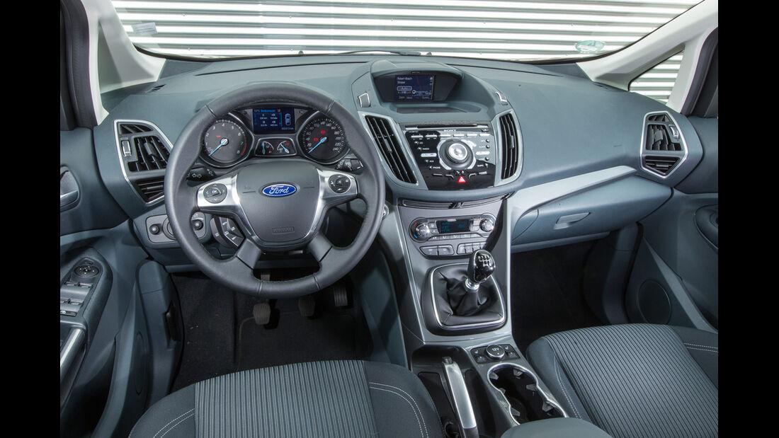 Ford C-Max 1.6 Ecoboost, Cockpit