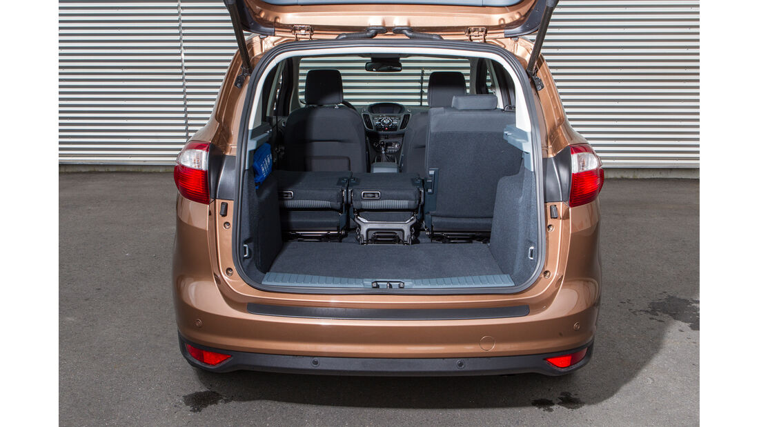 Ford C-Max 1.6 Ecoboost, Ladefläche