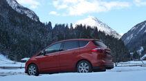 Ford C-Max 1.6 Ecoboost, Seitenansicht, Berge