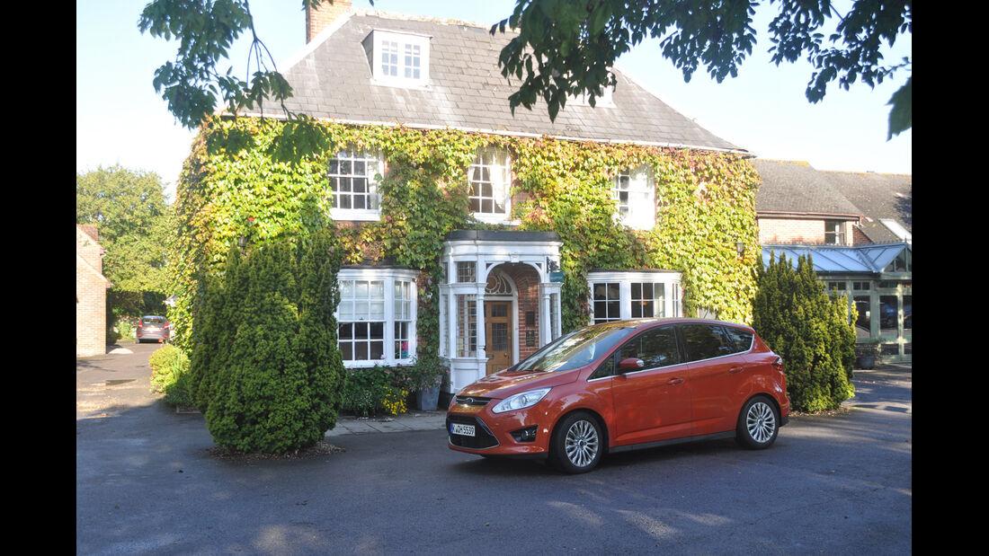 Ford C-Max 1.6 Ecoboost, Seitenansicht, Landhaus