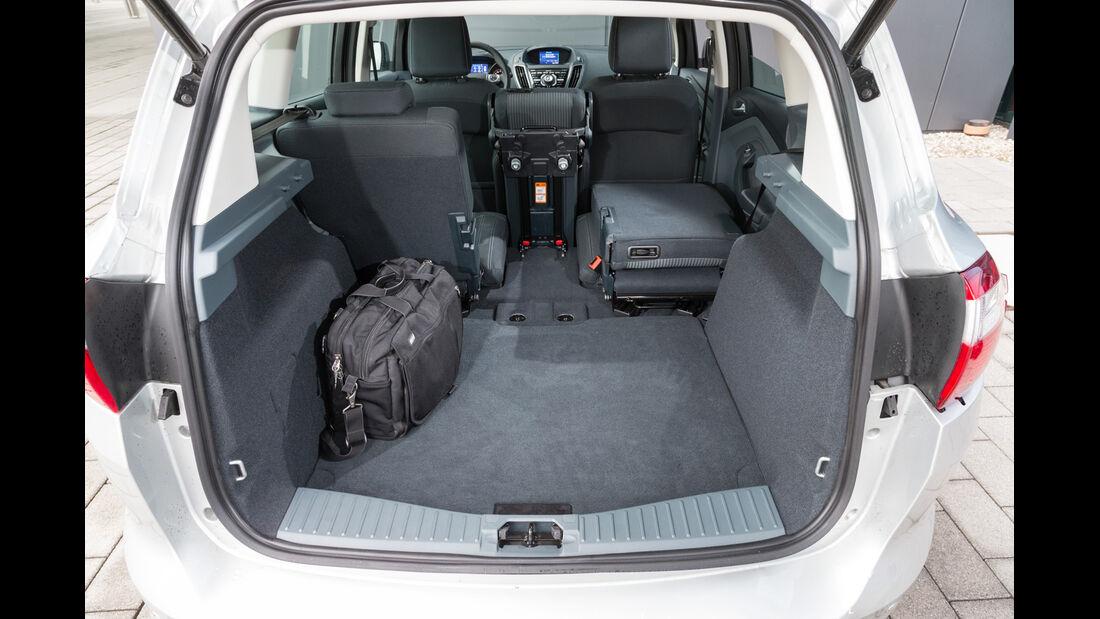 Ford C-Max 2.0 TDCi, Kofferraum, Fondsitz umklappen