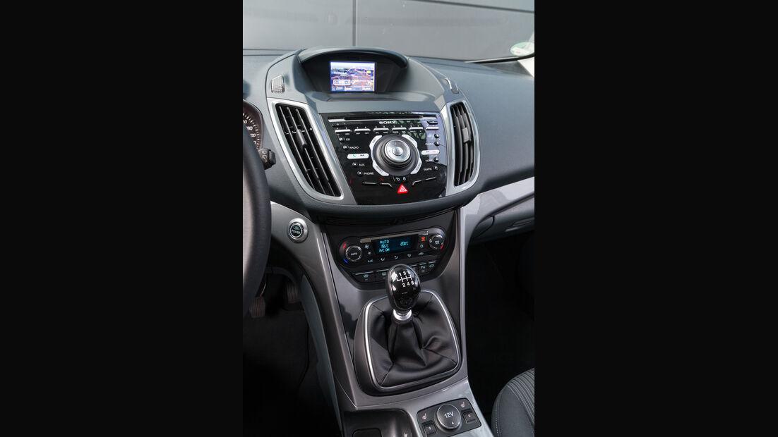 Ford C-Max 2.0 TDCi, Mittelkonsole