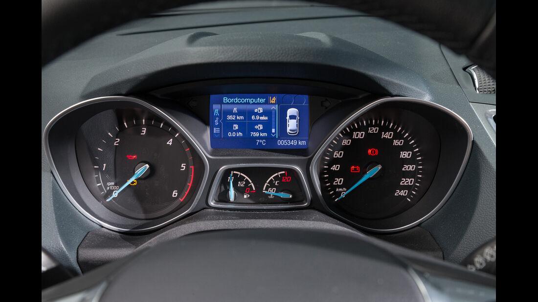 Ford C-Max 2.0 TDCi, Rundinstrumente