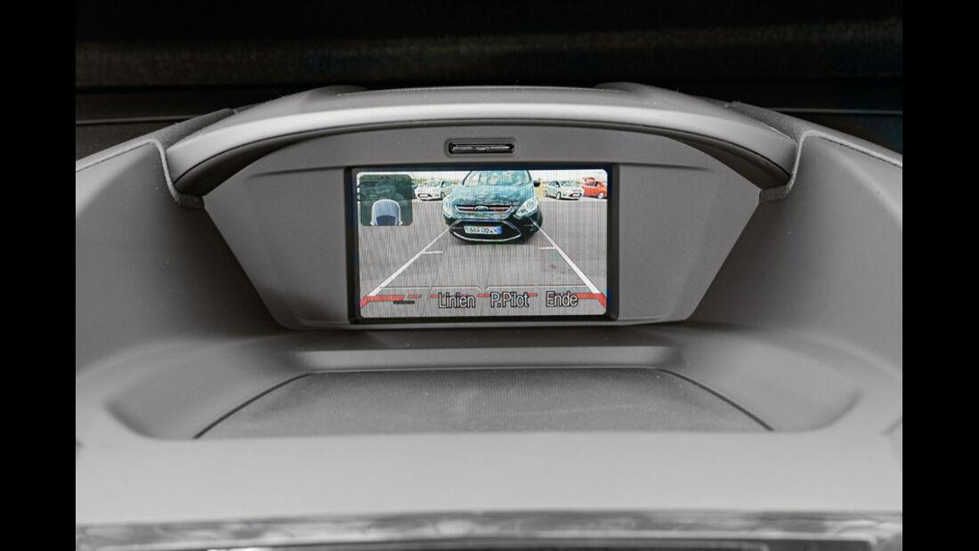 Ford C-Max, Ford Grand C-Max, Display, Kamera
