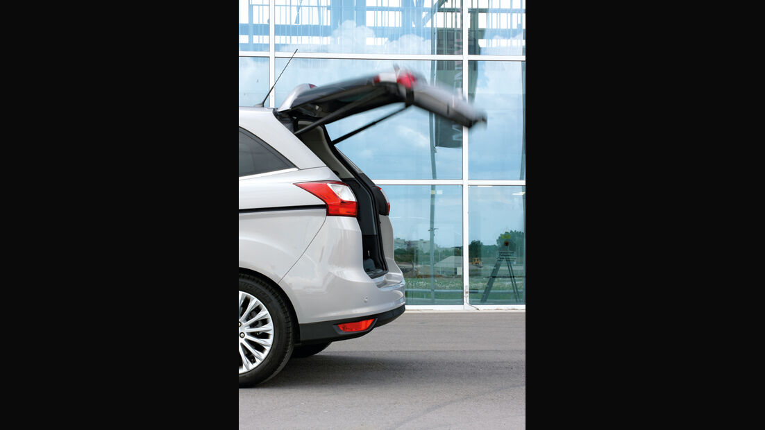 Ford C-Max, Ford Grand C-Max, Heckklappe
