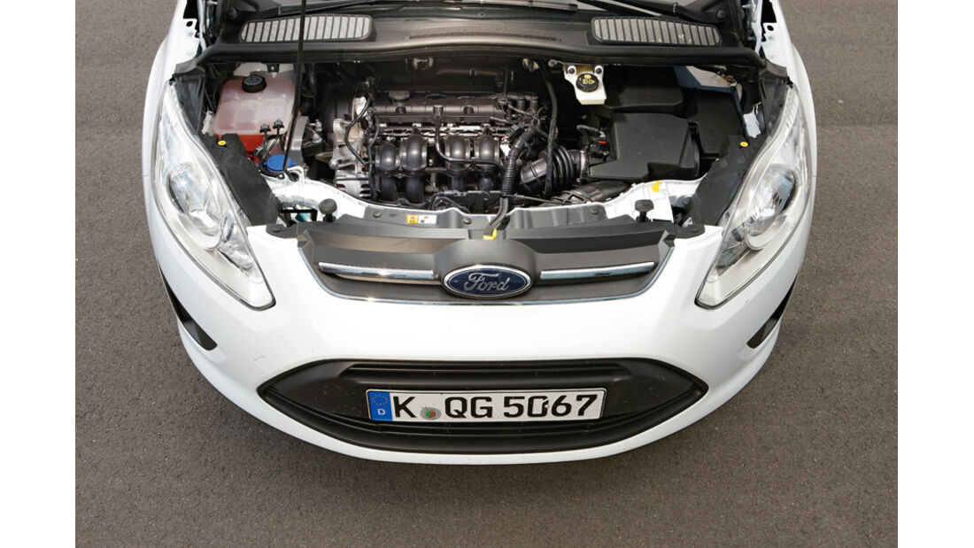 Ford C-Max, Ford Grand C-Max, Motor 1.6 Ti-VCT, 105/125 PS