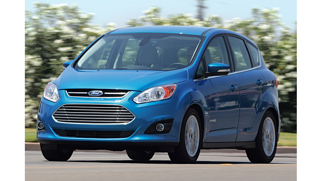 Ford C-Max Hybrid, Frontansicht