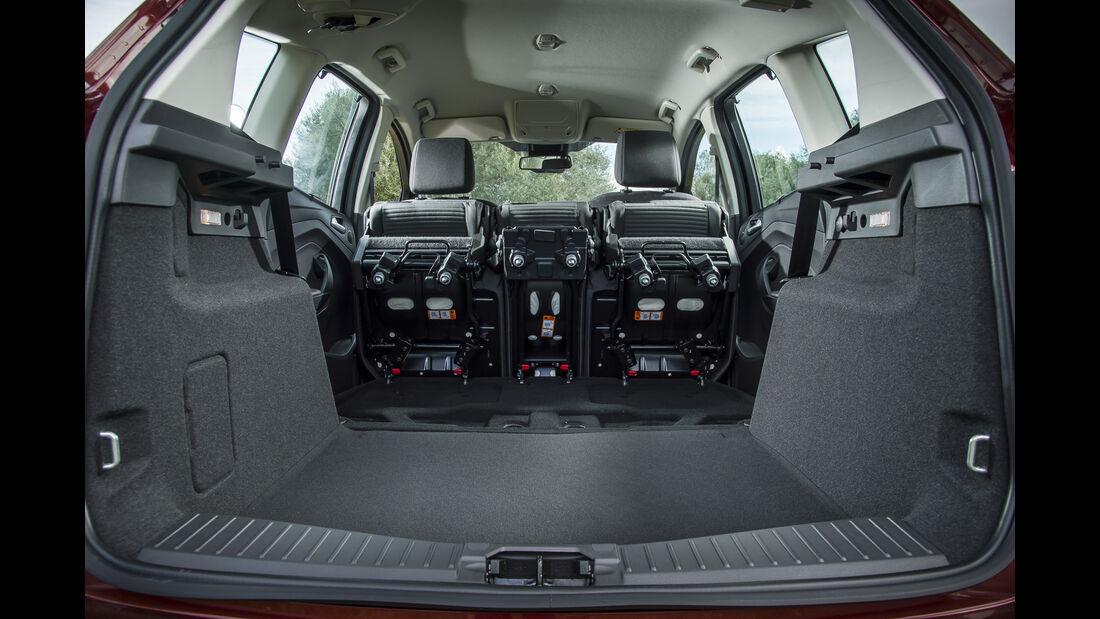 Ford C-Max, Kofferraum