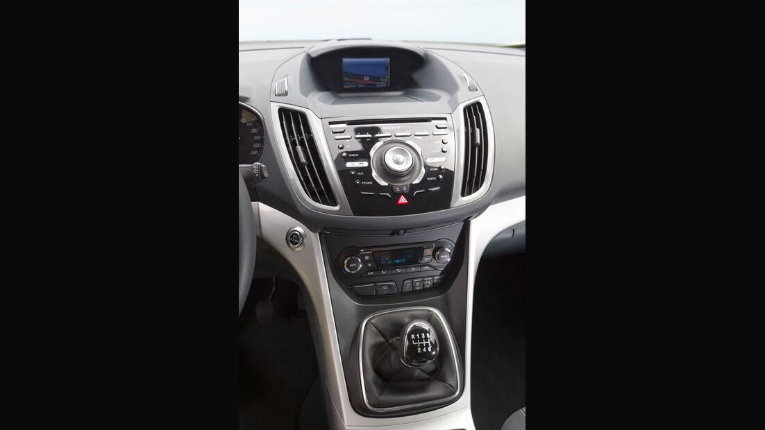 Ford C-Max, Mittelkonsole