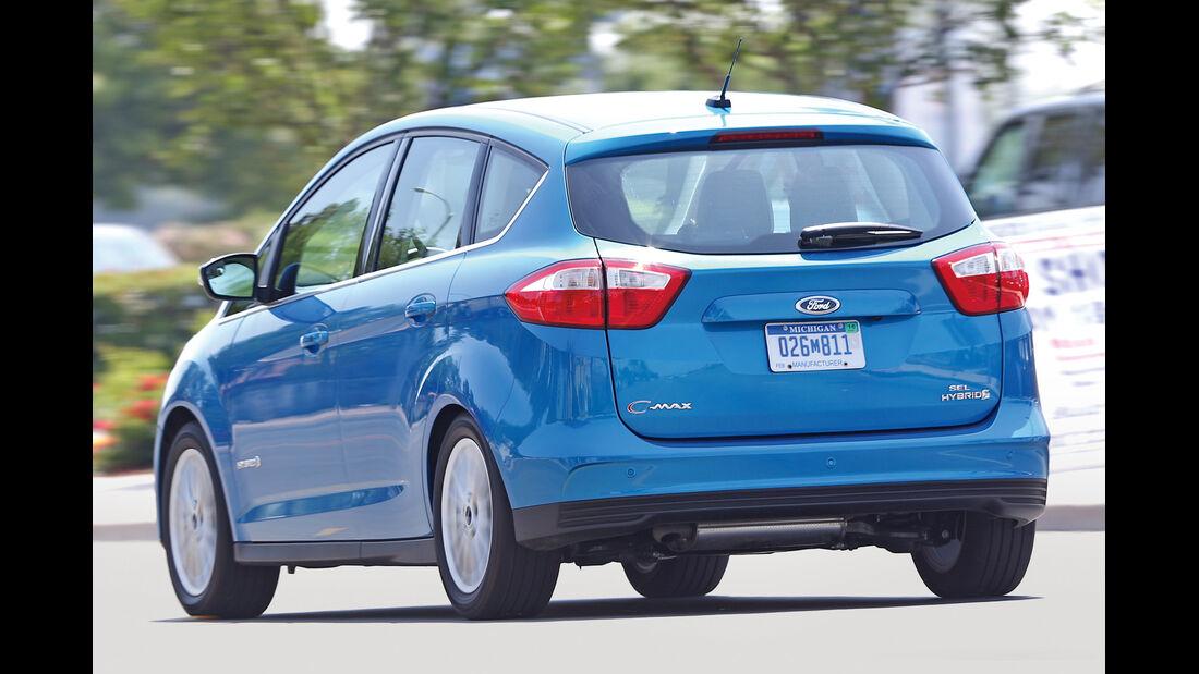 Ford C-Max Plug-in-Hybrid, Heckansicht