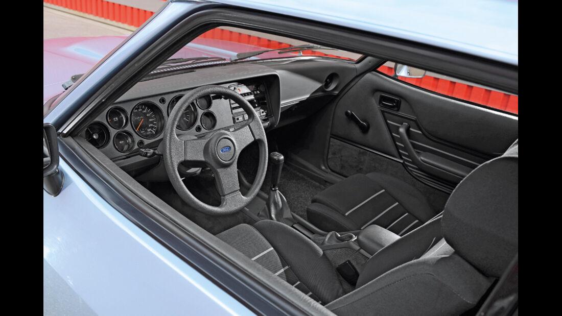 Ford Capri 1974-1986, Innenraum