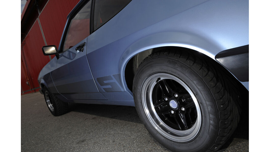 Ford Capri 1974-1986, Rad, Felge