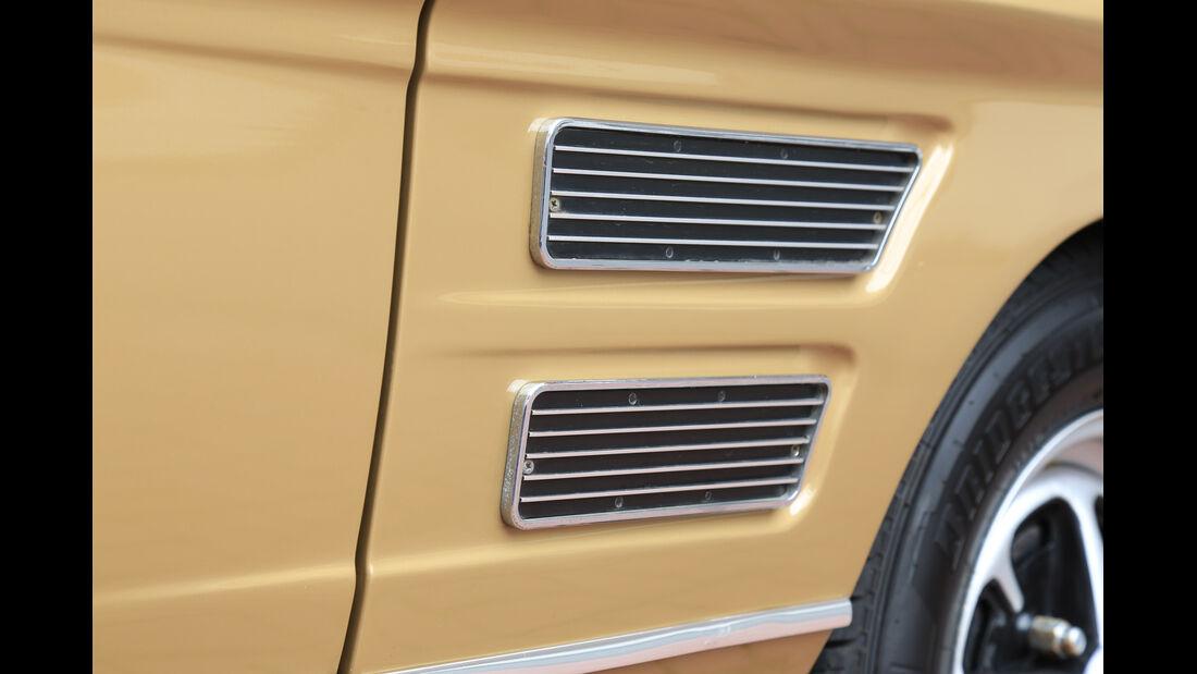 Ford Capri 2300 GT, Luftschlitze