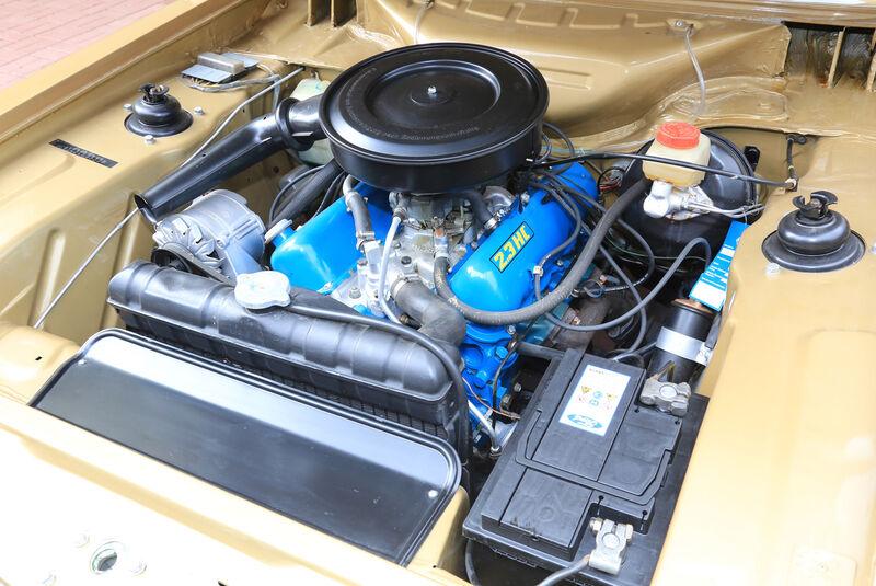 Ford Capri 2300 GT, Motor