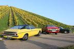 Ford Capri 2600 GT, Ford Taunus 2300 GXL, Ford Granada 2.0 l, Heckansicht