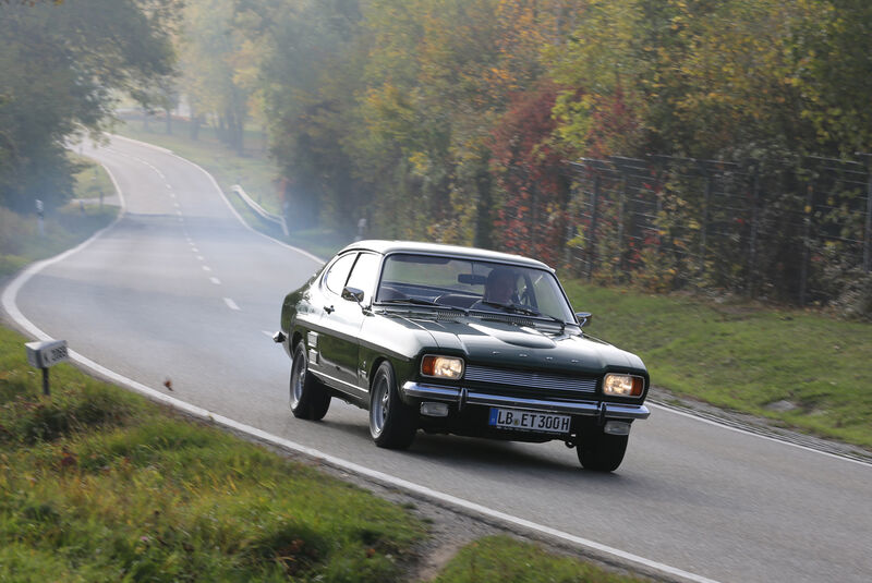Ford Capri 2600 GT, Frontansicht