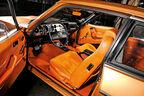 Ford Capri 3.0 Ghia, Cockpit