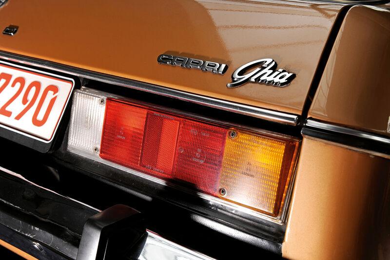 Ford Capri 3.0 Ghia, Heckleuchte