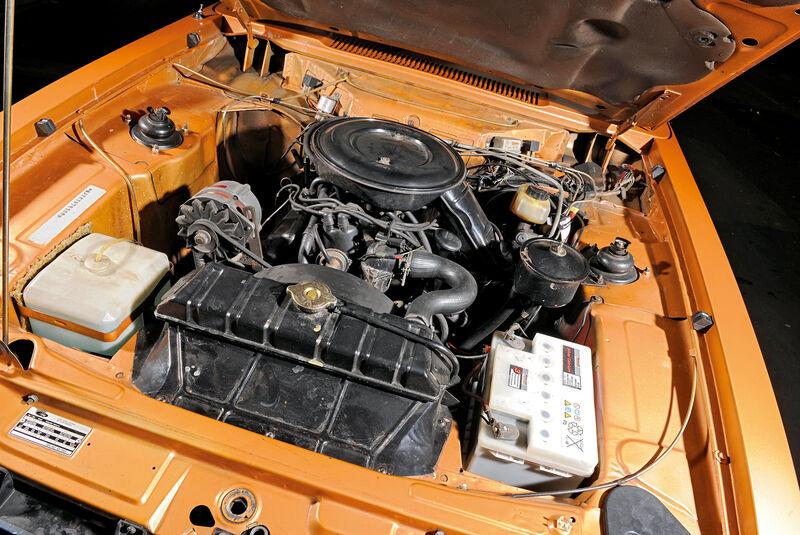 Ford Capri 3.0 Ghia, Motor
