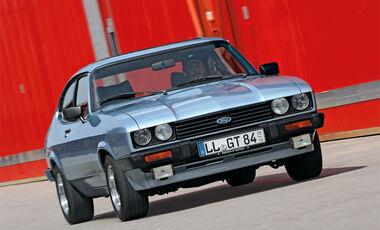 Ford Capri, Front