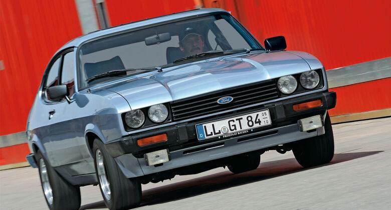 Ford Capri, Frontansicht