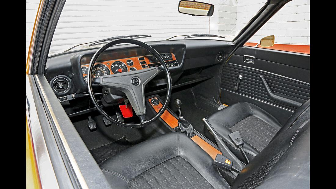 Ford Capri I, Cockpit