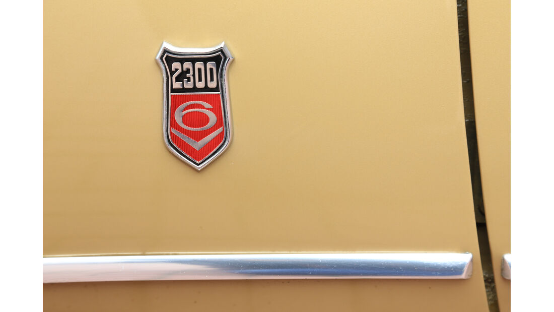 Ford Capri I, Emblem