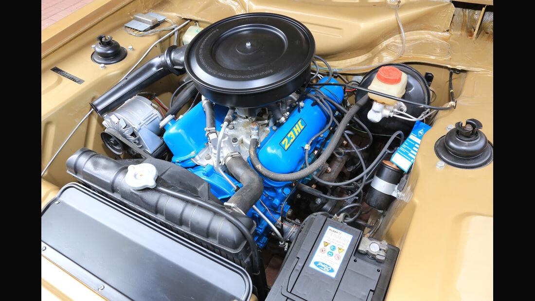 Ford Capri I, Motor
