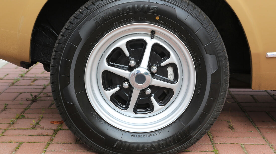 Ford Capri I, Rad, Felge