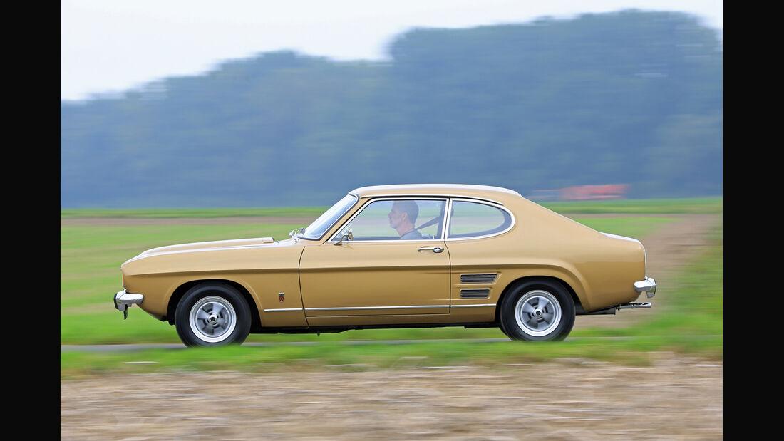 Ford Capri I, Seitenansicht