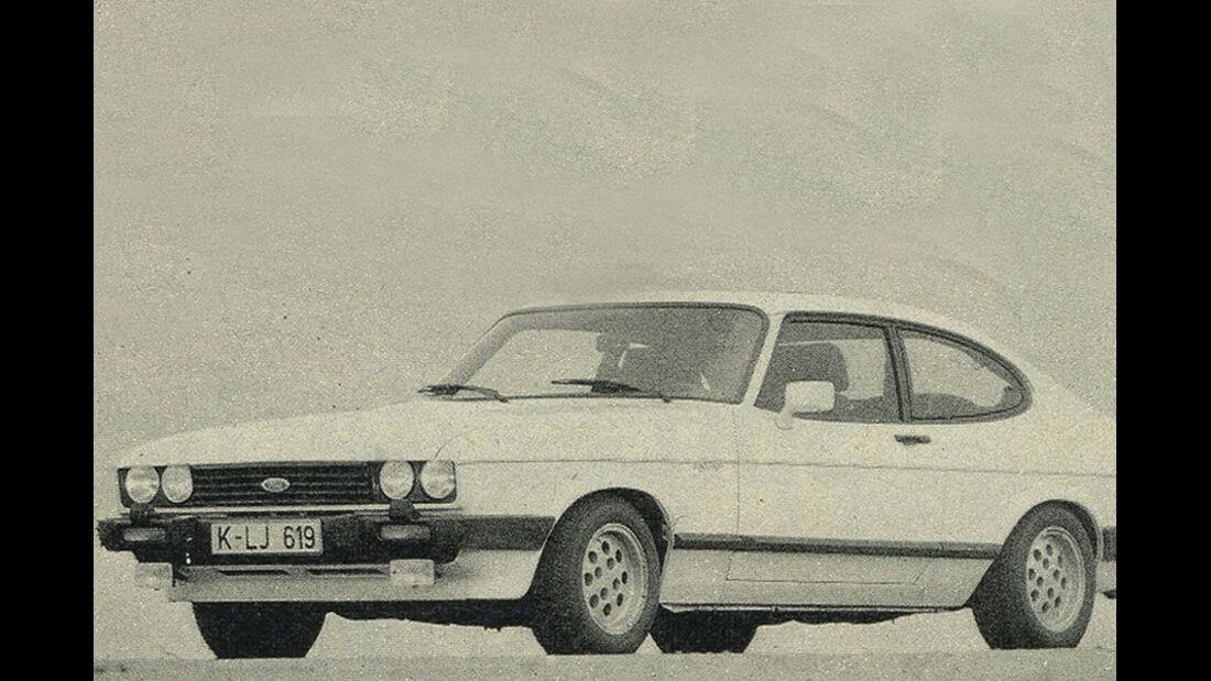 Ford, Capri, IAA 1981
