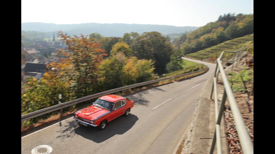 Ford Capri Perana, Draufsicht, Front