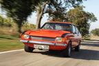 Ford Capri Perana, Frontansicht, Kühlergrill