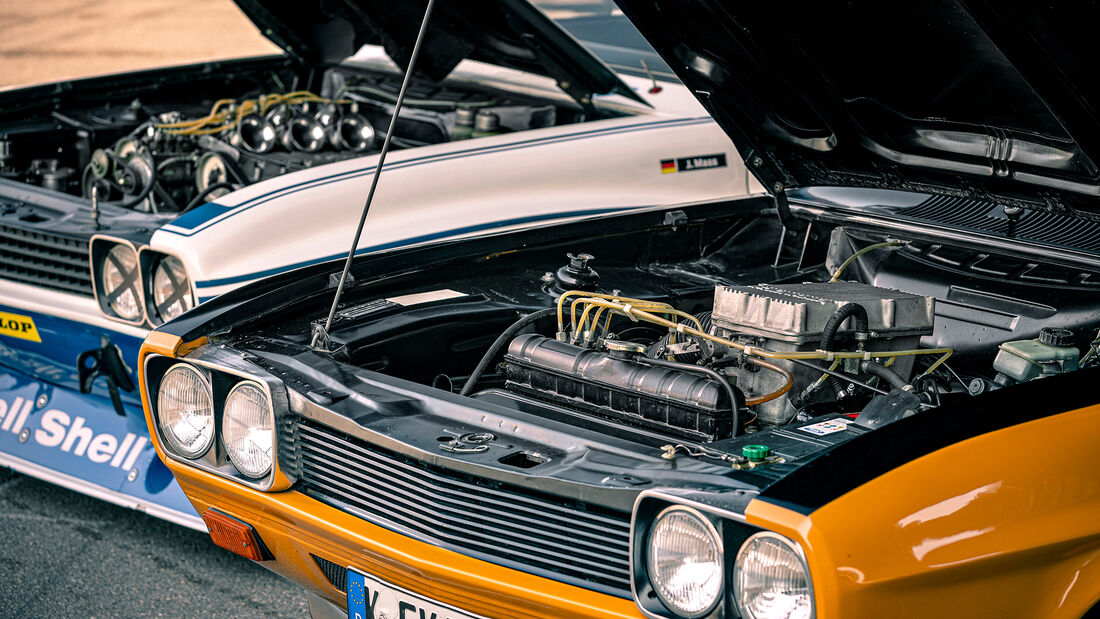 Ford Capri RS 2600, Ford Capri RS Gruppe 2, Motor