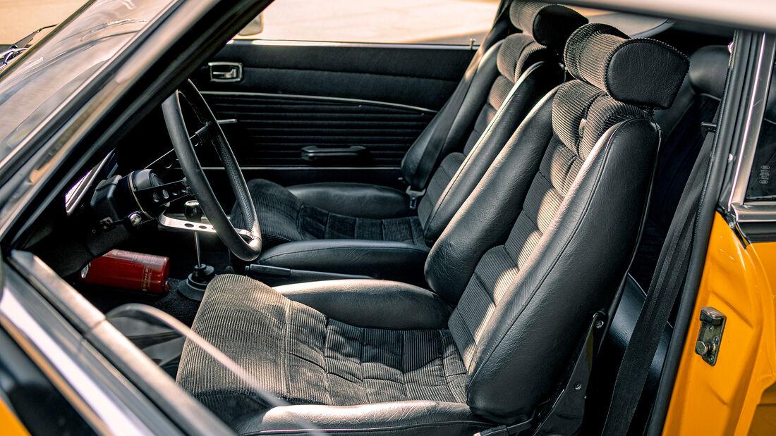 Ford Capri RS 2600, Interieur