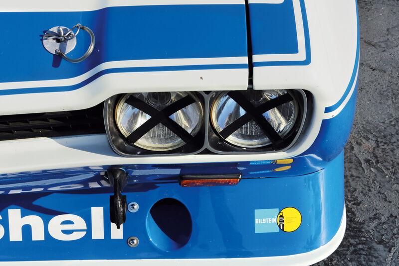 Ford Capri RS, Frontscheinwerfer