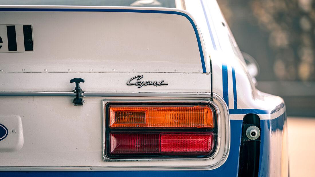 Ford Capri RS Gruppe 2, Exterieur